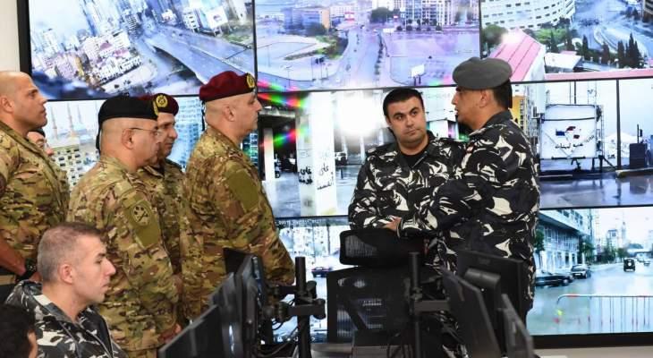 قائد الجيش نوّه بأعمال جميع الأجهزة العسكرية والامنية خصوصا في هذه المرحلة