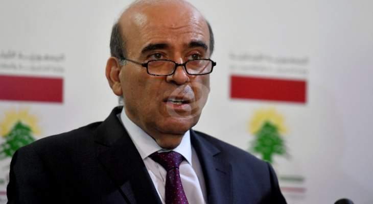 وهبه: الاستقرار بالمنطقة  ينطلق من التوصل لتحقيق سلام عادل وشامل في الشرق الاوسط