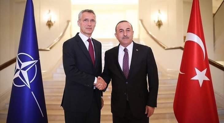 ستولتنبرغ أكد لجاويش أوغلو دعم الناتو لجهود الأمم المتحدة لإيجاد حل سياسي للأزمة بليبيا