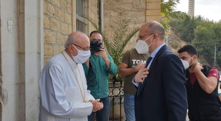 وزير الصحة تفقد مستشفى تل شيحا: بادرتكم باتجاه فتح قسم كورونا خطوة مسؤولة