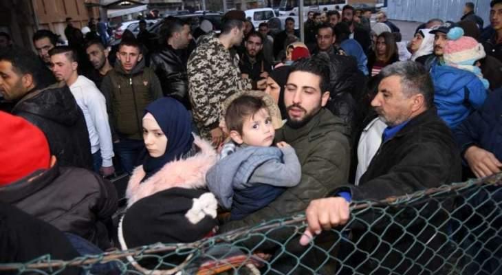 الشرق الاوسط: لبنان يتجه لإحصاء رسمي للنازحين السوريين ضمن خطة لإعادته