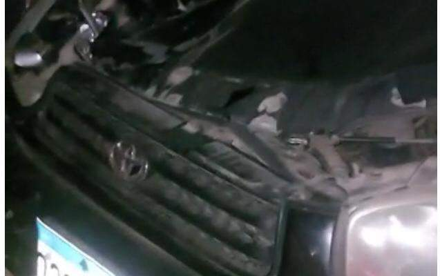 النشرة: حادث صدم بين سيارة وفرس على طريق مقنة البقاعية