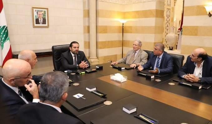 ممثلو شركات النفط: قرار الاضراب تجمّد والحريري سيدرس الموضوع خلال 48 ساعة