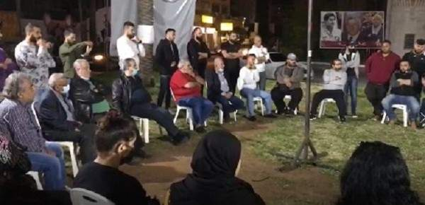 سعد بلقاء مع أهالي صيدا القديمة: للتحرك بمواجهة الأوضاع المعيشية المأساوية