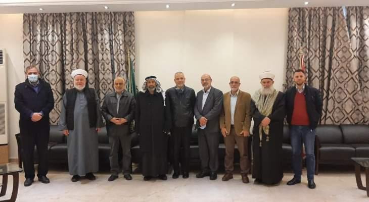 لقاء بين هيئة علماء فلسطين وقيادة الجماعة الإسلامية: فلسطين قضية الأمة جمعاء