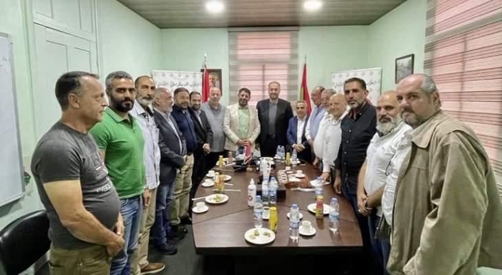 """""""الديمقراطي"""" و""""حزب الله"""" أكدا التحالف الدائم بالاستحقاقات الإنتخابية والتنسيق اليومي"""