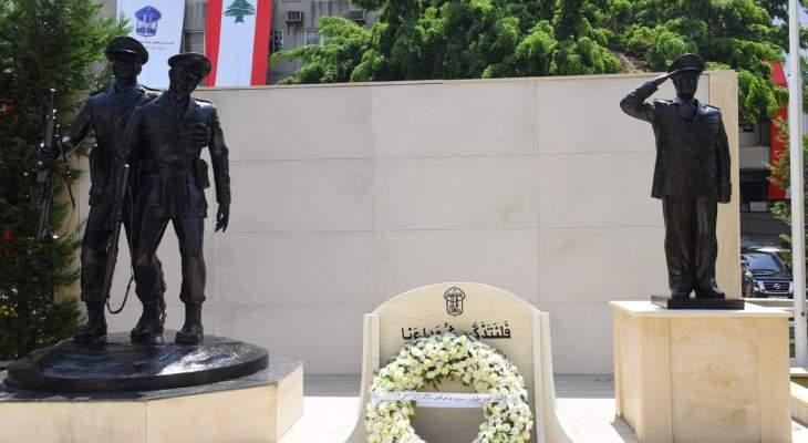اللواء عثمان كرم شهداء المديرية العامة لقوى الامن: مهما اشتدت الأزمات فالأمن خط أحمر