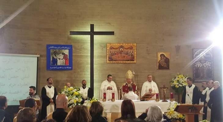 المطران بولس مطر صلى مع راهبات دير سيدة الوحدة على نية وحدة المسيحيين