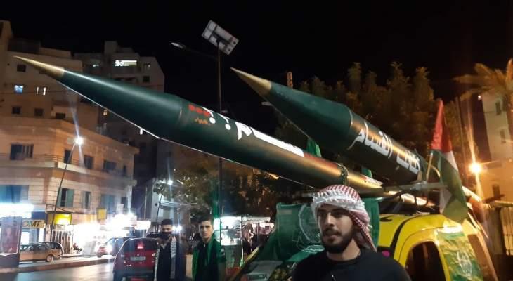 النشرة: وقفة في ساحة النجمة في صيدا تضامنا مع غزة والقدس والاقصى