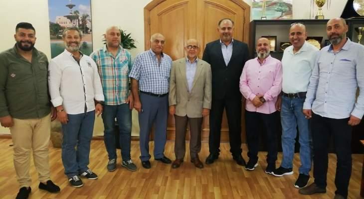 يمق التقى الجماعة الإسلامية ولجنة عودة النازحين في طرابلس