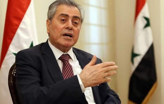 سفير سوريا: هناك تسهيل بكل معنى التسهيل لعودة النازح الى بلاده من جانبنا