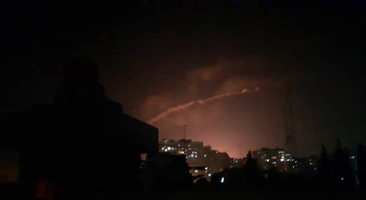المرصد: مقتل 11 بينهم 7 إيرانيين  في ضربات إسرائيلية على دمشق
