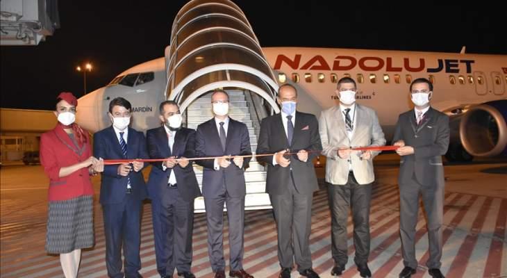 شركة أناضول جيت التركية أطلقت رحلاتها المباشرة من أنقرة إلى بيروت