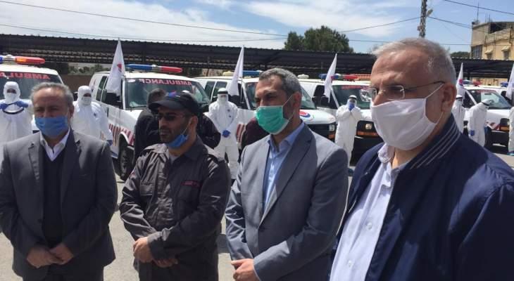 حزب الله يطلق لجان الصحة والتكافل الإجتماعي في البقاع