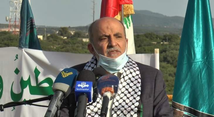 """جشي أكد ضرورة الوحدة بين الفلسطينيين: شعارنا اليوم هو """"يا قدس إننا قادمون"""""""