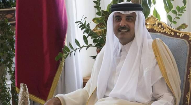 امير قطر اتصل باردوغان وبحث معه مستجدات الأحداث في سوريا
