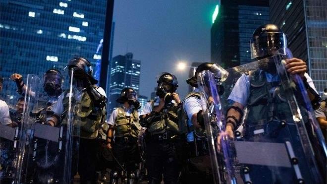 مظاهرات حاشدة في هونغ كونغ بمناسبة مرور ستة أشهر على بدء حركة الاحتجاج