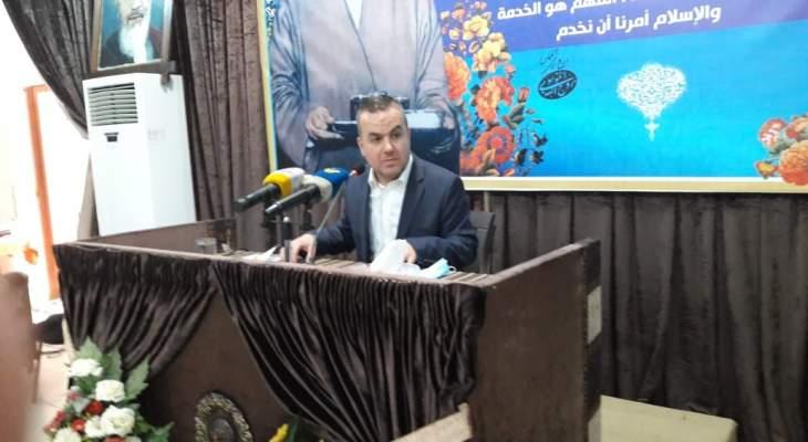 فضل الله: لسنا الدولة ولا حل اليوم لتشكيل الحكومة إلا بتفاهم الأفرقاء المعنيين