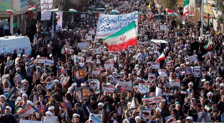 اعتقال 40 شخصا خلال احتجاجات في مدينة يزد الإيرانية