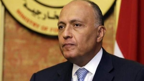 شكري: سيتم إرسال وفد لاستكشاف إمكانية تواجد مصر في العاصمة الليبية
