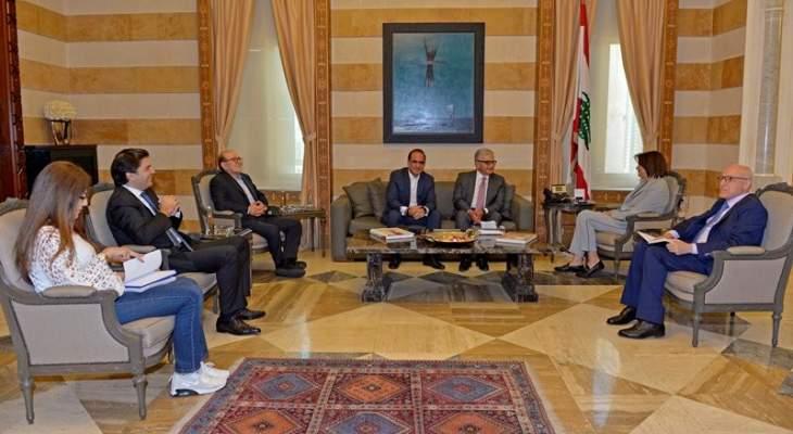 الحسن وعدت جمعية المصارف بدرس تأمين حماية أمنية للمصارف مع القادة الأمنيين