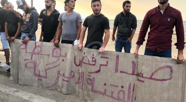 """النشرة: محتجون بصيدا انتقلوا الى جسر الاولي لتحويل سير """"بوسطة الثورة"""""""