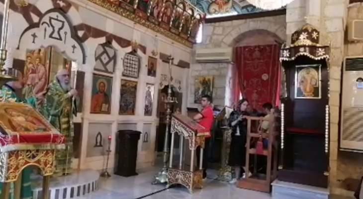 كرياكوس احتفل بعيد مار يعقوب في كفرحزير: بالرجاء ننتصر على الشدائد