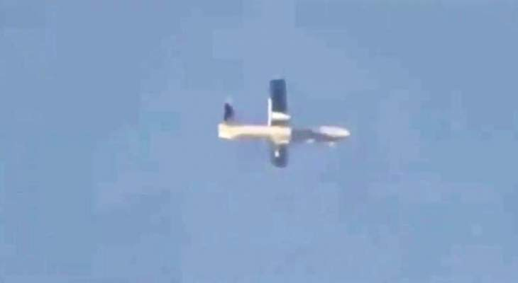 النشرة: طائرة مسيّرة إسرائيلية تنفذ طلعات استكشافية فوق حاصبيا والعرقوب
