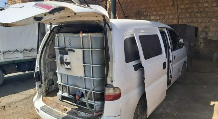 الجيش: توقيف 9 أشخاص وضبط آليات محملة بكمية من المحروقات المعدة للتهريب إلى سوريا
