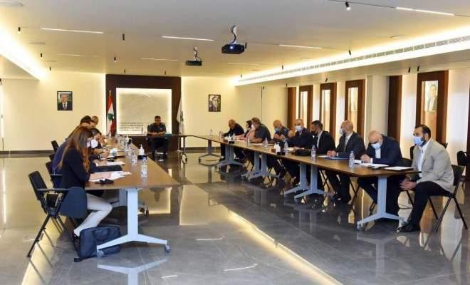 اجتماع للجنة التنسيق الوطنية لقمع تمويل الإرهاب برئاسة اللواء عثمان