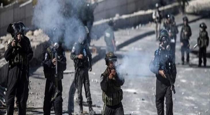 سكاي نيوز: مواجهات بالقدس بين الشرطة الإسرائيلية وفلسطينيين وإطلاق عيارات مطاطية وقنابل غاز