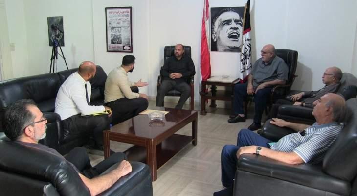 حمدان استقبل السفير الكوبي في لبنان