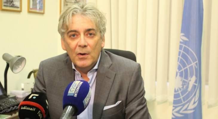 تيننتي: الوضع حاليا في منطقة عمليات اليونيفيل مستقر وهادىء
