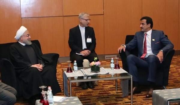 الرئيس الايراني: العلاقات بين طهران والدوحة تتطور باستمرار