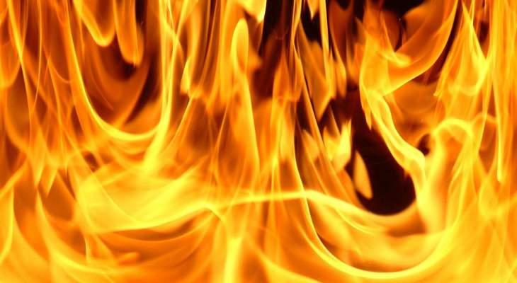 إخماد حريق داخل غرفة مشغلات أجهزة التدفئة وخزان للمازوت في شويليت- زغرتا