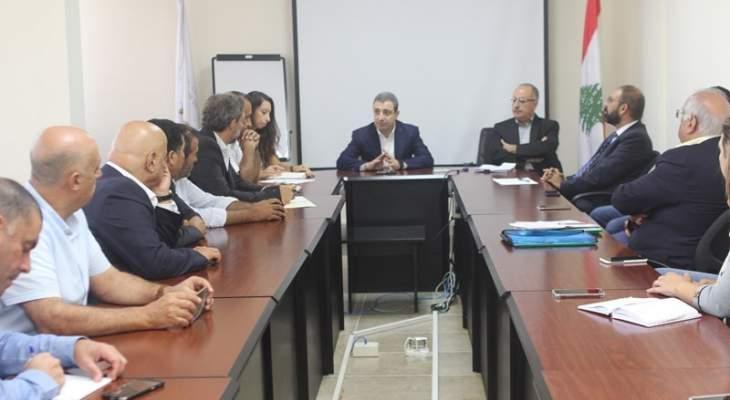 أبو فاعور: ضرورة اعطاء الأولوية للالتزامات البيئية مع مراعاة تسهيل النشاطات الصناعية