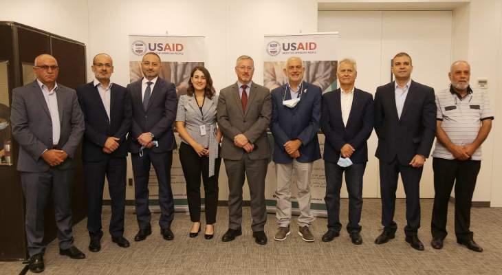 الوكالة الأميركية للتنمية الدولية تتعاون مع سبع بلديات لتحسين إدارة النفايات الصلبة