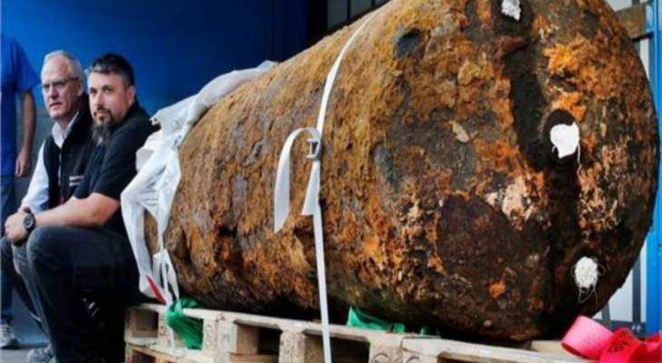إبطال مفعول قنبلة ضخمة تعود إلى الحرب العالمية الثانية غربي ألمانيا