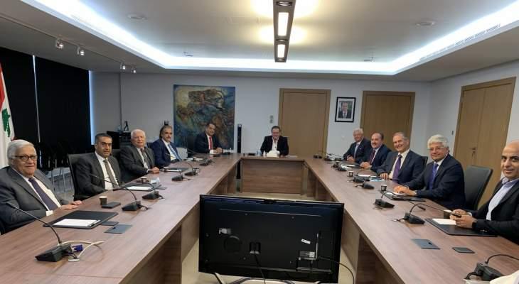 شقير بحث مع وفد مجلس العمل والاستثمار اللبناني في السعودية أزمة التصدير الى الرياض