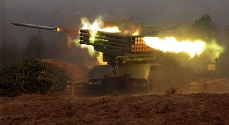 المرصد السوري: 12 قتيلا وعدد من الجرحى بصواريخ النظام السوري على بلدة إبلين