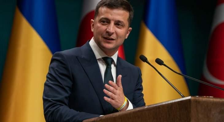 الرئيس الأوكراني: عدد القوات الروسية المنسحبة من حدودنا غير كافٍ