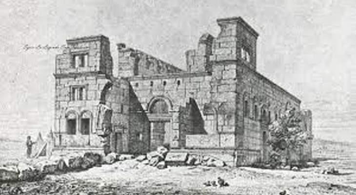 أ.ف.ب: مصدر إلهام هندسة كاتدرائية نوتردام كنيسة في شمال سوريا