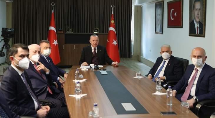 اردوغان: الجيش التركي أثبت جدارته شرقي المتوسط وفي مكافحة الإرهاب