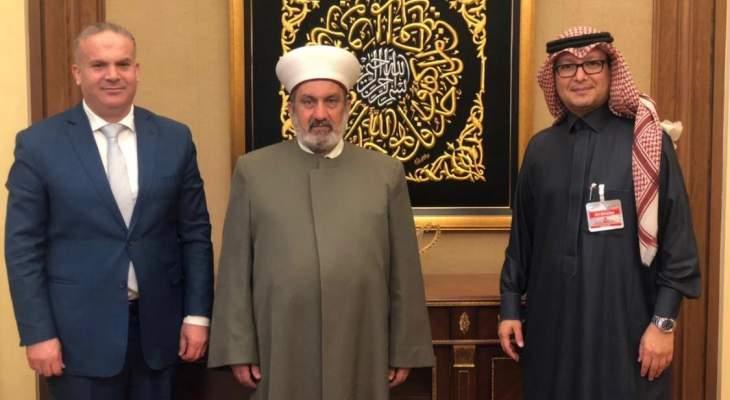بخاري التقى مفتي بعلبك وعرض معه شؤون منطقة البقاع