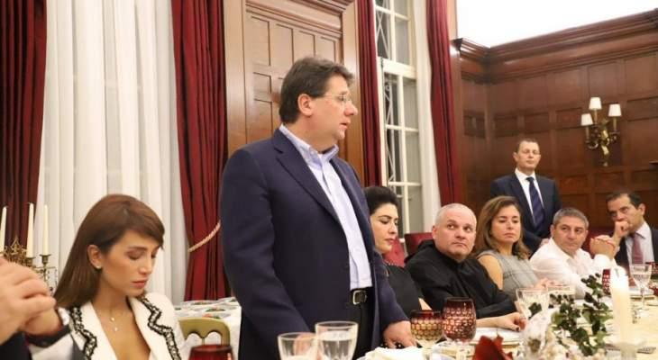 كنعان: العهد هو عهد كل اللبنانيين ونجاحه هو نجاح لهم