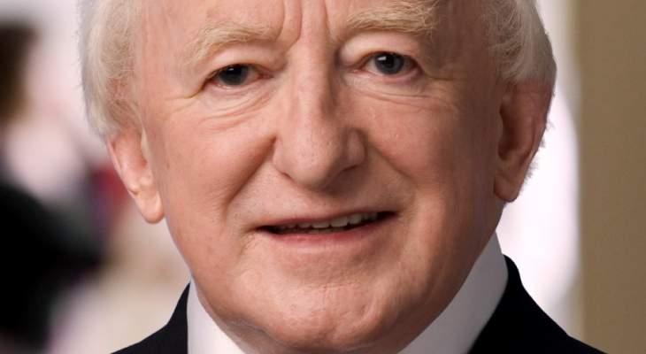 رئيس ايرلندا وصل الى بيروت في زيارة رسمية