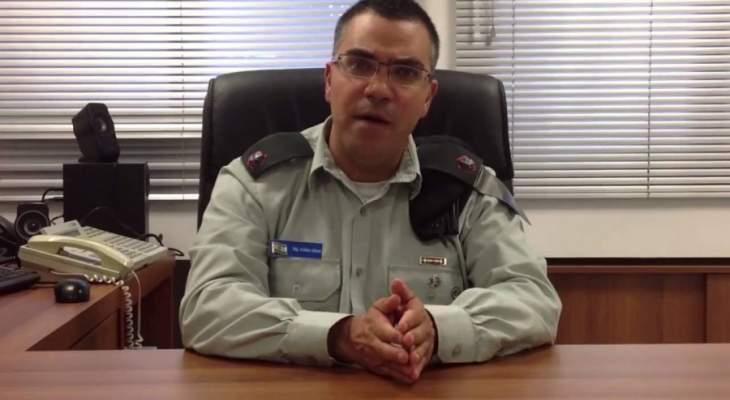 الجيش الاسرائيلي: رصدنا الليلة الماضية طائرة مسيرة تسللت من لبنان الى اسرائيل وتم اسقاطها