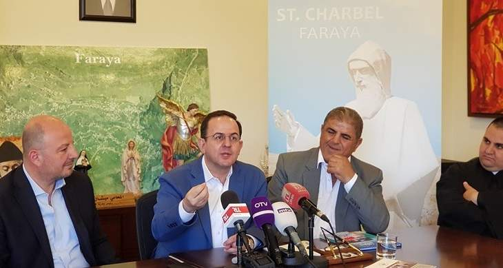 رفول خلال اطلاق مهرجان فاريا: السياحة الدينية في فكر الرئيس عون ونروجها دوليا