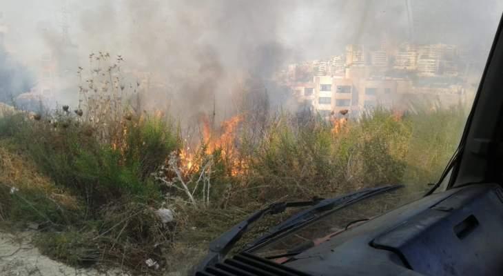 النشرة: قرى قضاء صيدا شهدت حرائق بالجملة أطفأها عناصر اطفاء المدينة