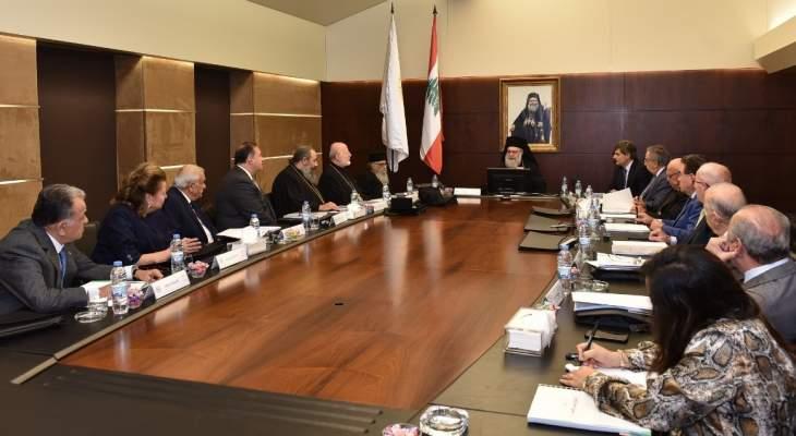 البطريرك يازجي: الصرح البلمندي أصبح منارةً علمية وثقافية في لبنان